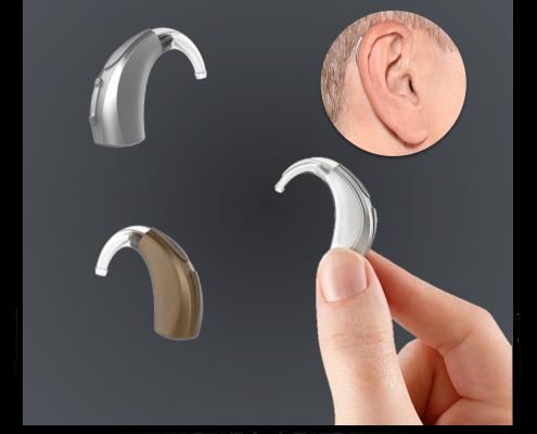 prothèse auditive BTE Derrière l'oreille